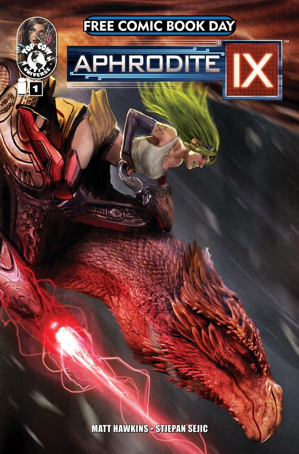 'Aphrodite IX' for Free Comic Book Day