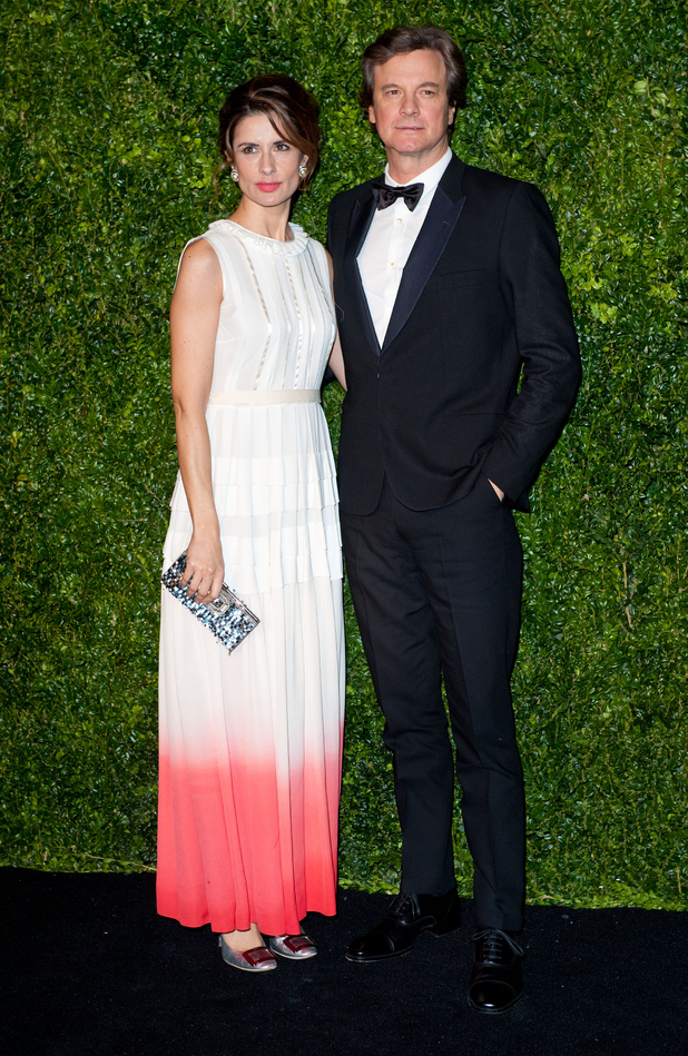Colin Firth, Livia Firth, 58th London Evening Standard Theatre Awards
