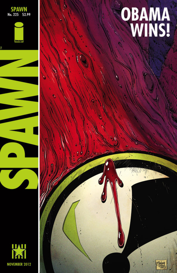'Spawn' #225 cover