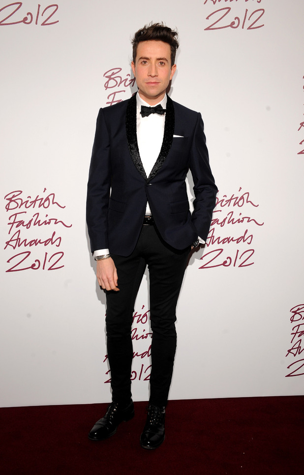 Nick Grimshaw, British Fashion Awards 2012