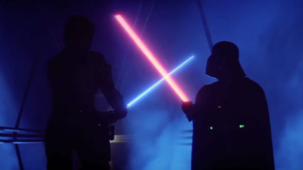 'Star Wars The Complete Saga' Blu-ray trailer.