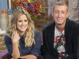 Caroline Flack and Christopher Maloney on This Morning