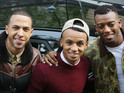 Exclusive: Singer Aston Merrygold knows the sex of the new JLS/Saturdays baby.