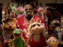 The singer teams up with the iconic puppets for his latest festive song.