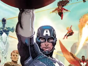 Jonathan Hickman &#39;Avengers&#39; trailer still