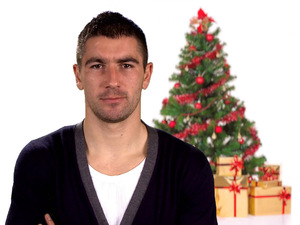 Manchester City&#39;s Aleksandar Kolarov interprets &#39;Jingle Bells&#39;
