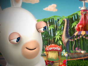 'Rabbids Land' Wii U screenshot