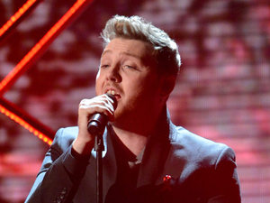James Arthur performing in the semi-finals of X Factor