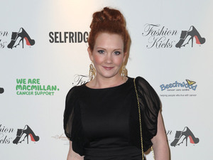 Jennie McAlpine Fashion Kicks at Manchester Point Old Trafford Cricket Ground Manchester, England - 01.05.12 Mandatory Credit: Steve Searle/WENN.com