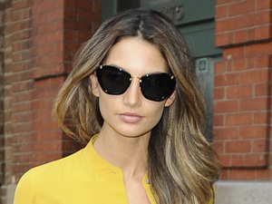 Victoria's Secret Angel Lily Aldridge seen out and about in Manhattan New York City, USA