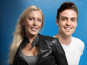 Mel Greig and Michael Christian of 2Day FM Australia