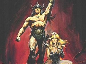 &#39;Conan The Barbarian&#39; 1982 movie poster