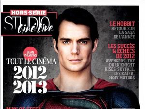 &#39;Man of Steel&#39;: New Henry Cavill picture debuts on French magazine Studio Cin Live
