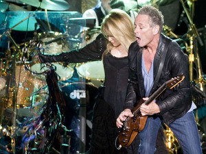 Fleetwood Mac's Stevie Nicks, Lindsey Buckingham and Mick Fleetwood on the 'Unleashed' tour, Wembley Arena - October 2009