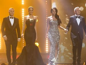 The X Factor Final: The judges.
