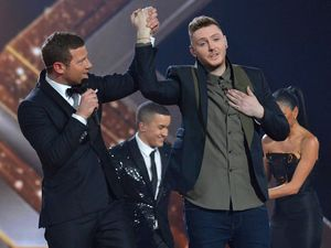 The X Factor Final: James is crowned the winner.
