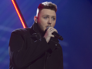 The X Factor Final: James Arthur.