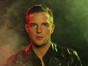 Brandon Flowers in &#39;I Feel It In My Bones&#39; music video.