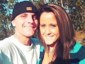 Jennelle Evans tweets this pic of herself and Courtland Rogers with the caption,' Me and my other half :)'