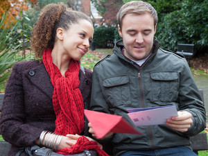 8021: Kirsty and Tyrone have arranged the wedding, though Tyrone feels emotional knowing deep down he's living a lie