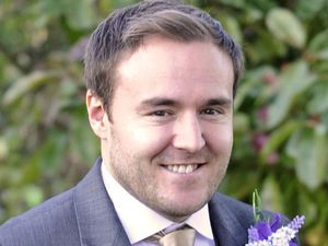 Kirsty and Tyrone's wedding - On set pictures: Alan Halsall as Tyrone