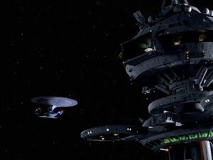 Star Trek: The Next Generation - the enterprise