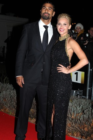 David Haye, Ashley Roberts, The Sun Military Awards