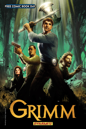 Free Comic Book Day 'Grimm' cover