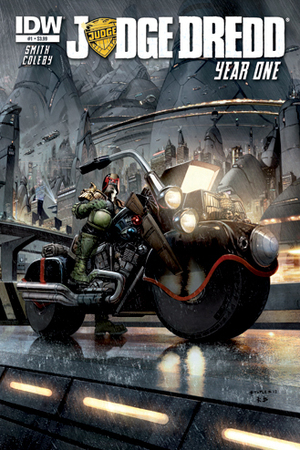 'Judge Dredd: Year One' cover