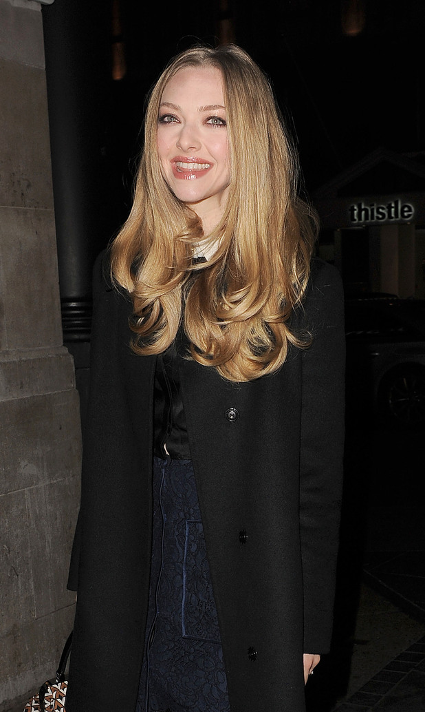 Amanda Seyfried visits the Empire Cinema in Leicester Square, with her 'Les Miserables' co-stars.