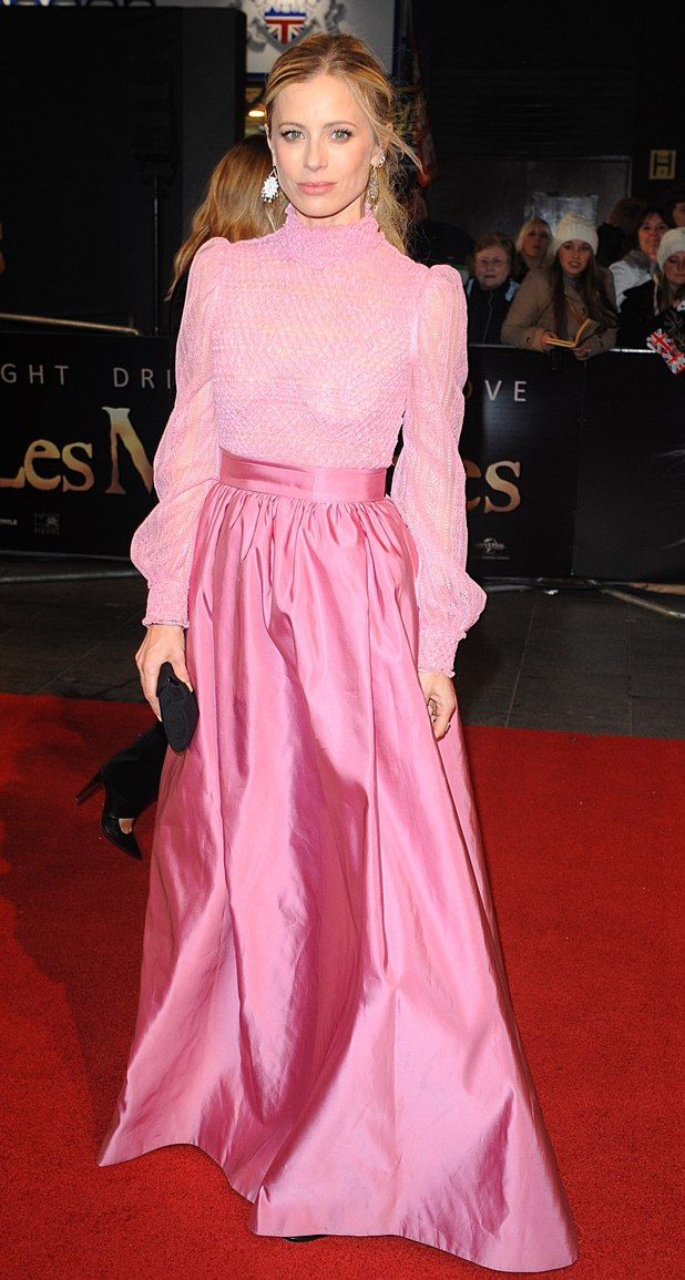 Laura Bailey arrives at the premiere of Les Miserables at the Empire Leicester Square, London, UK