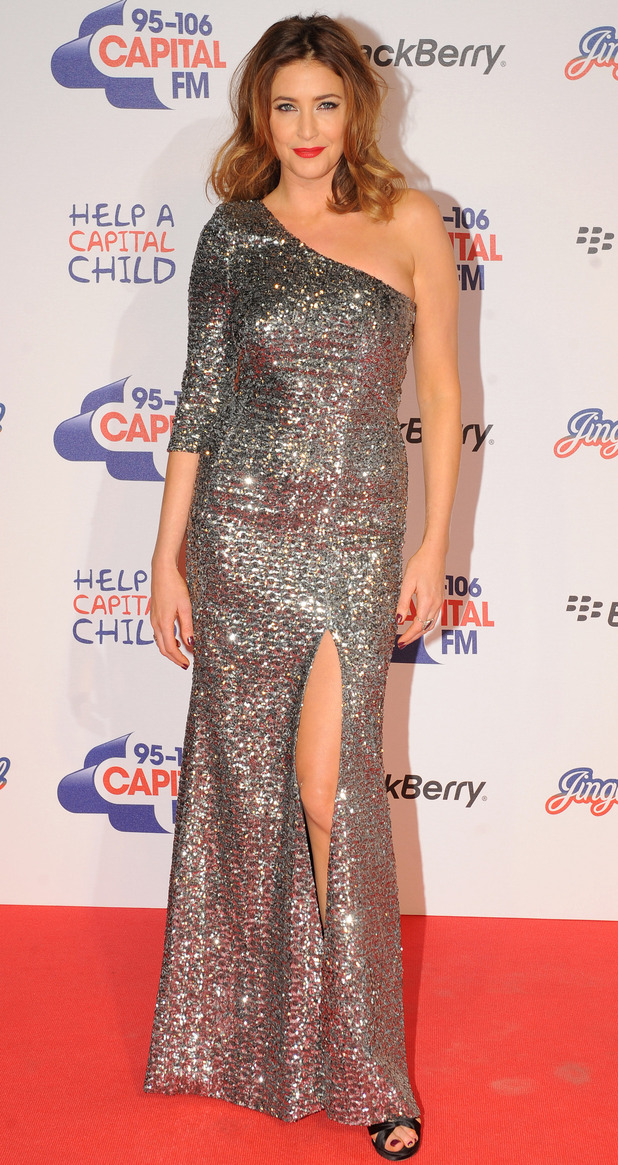 Capital FM Jingle Bell Ball 2012: Lisa Snowdon