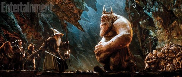 'The Hobbit': Gandalf confronts Goblin King