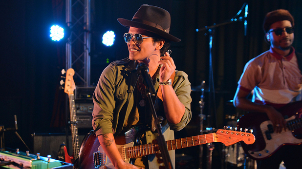 Bruno Mars at Radio 1 Live Lounge
