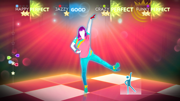 'Just Dance 4' Wii U screenshot