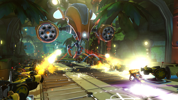 'Ratchet & Clank Q-Force' screenshot