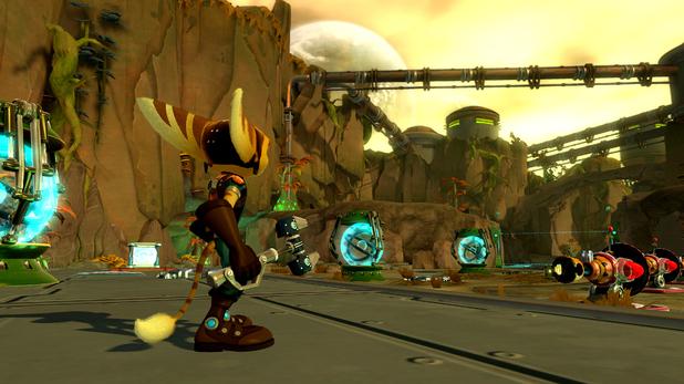 'Ratchet & Clank Q-Force' screenshot