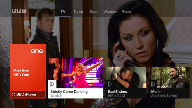 BBC Connected Red Button service: BBC One