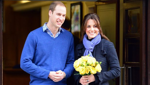 Prince William and Kate Middleton leave hospital after she is admitted for acute morning sickness - 6 December 2012