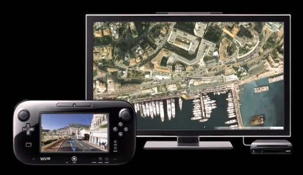 First image of Google Maps on Wii U