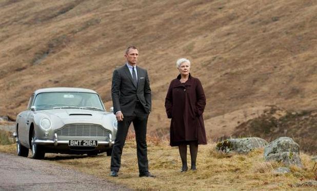 Skyfall Daniel Craig Judi Dench Scotland