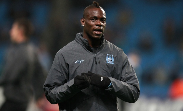 Manchester City&#39;s Mario Balotelli