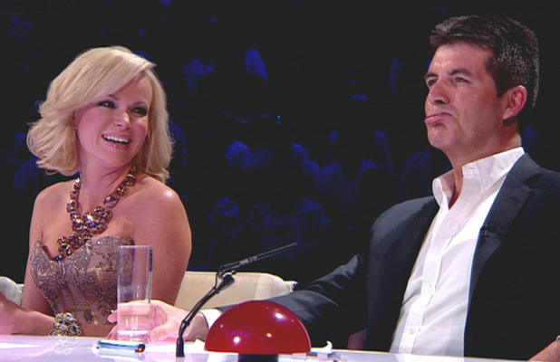 Amanda Holden and Simon Cowell are the judges on 'Britain's Got Talent - semi-finals'. Shown on ITV1 HD.England - 02.06.11 Supplied by WENN.comWENN does not claim any ownership including but not limited to Copyright or License in the attached material. Any downloading fees charged by WENN are for WENN's services only, and do not, nor are they intended to, convey to the user any ownership of Copyright or License in the material. By publishing this material you expressly agree to indemnify and to hold WENN and its directors, shareholders and employees harmless from any loss, claims, damages, demands, expenses (including legal fees), or any causes of action or  allegation against WENN arising out of or connected in any way with publication of the material.