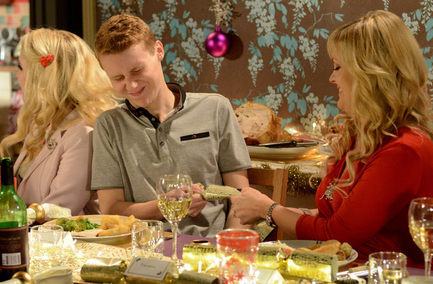 Jay is welcomed into the Branning family home.