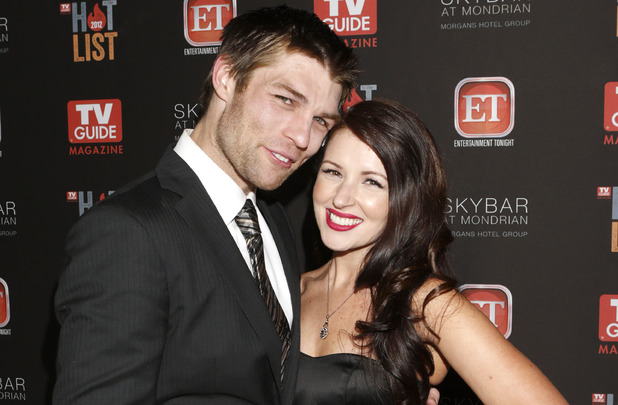 Liam McIntyre and Erin Hasan