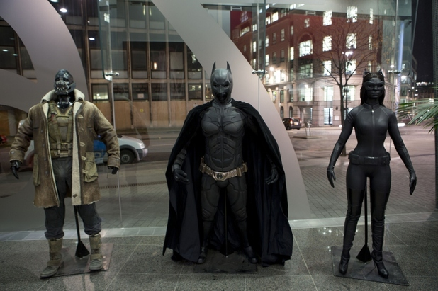Dark Knight rises costumes