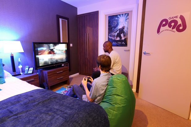 GAME Pad hotel package