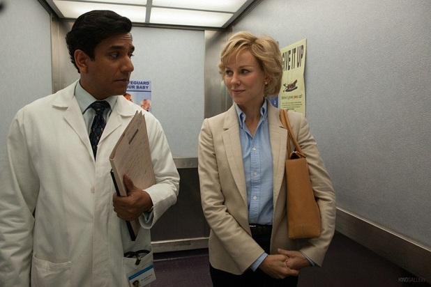 'Diana' still: Naomi Watts as Princess Diana and Naveen Andrews as Dr Hasnat Khan