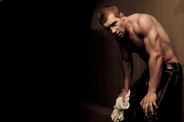 Jai Courtney photo shoot for Men's Health magazine