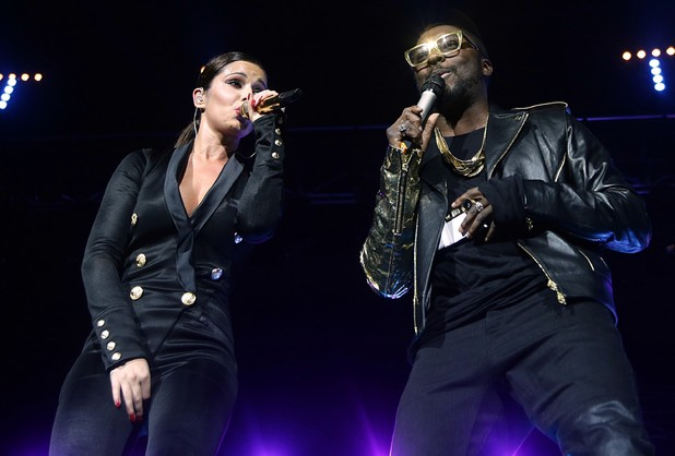 Capital FM Jingle Bell Ball 2012: Cheryl Cole and Will.I.Am